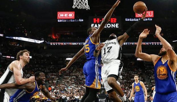NBAde ilk finalist Warriors
