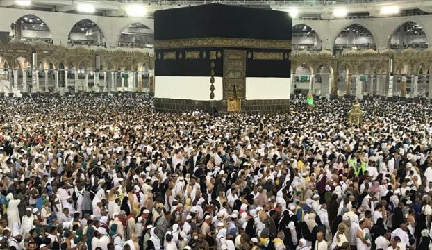İlk hac kafilesi Suudi Arabistana ulaştı