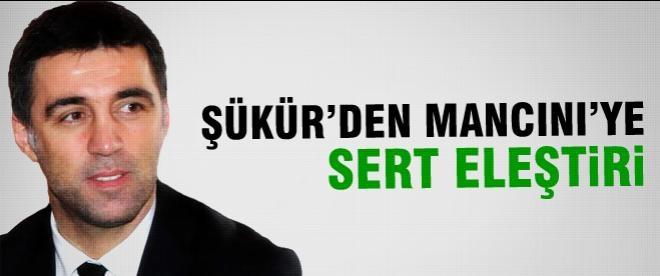 Hakan Şükür'den Mancini'ye sert eleştiri!