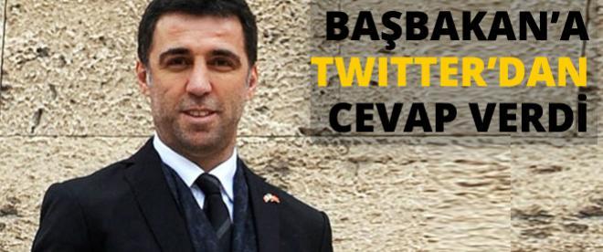 Hakan Şükür, Başbakan'a twitter'dan cevap verdi