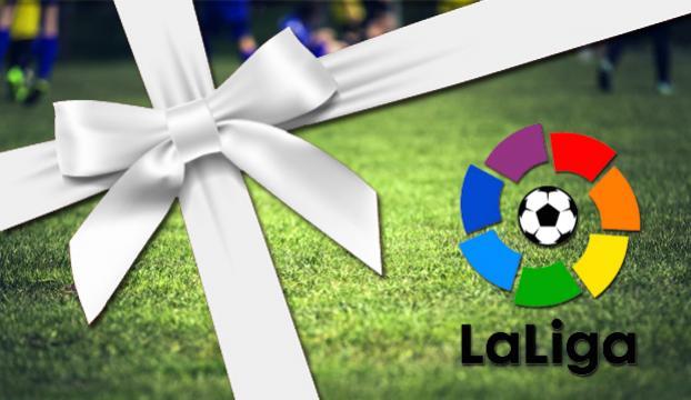 La Ligada hakeme hediye tartışması
