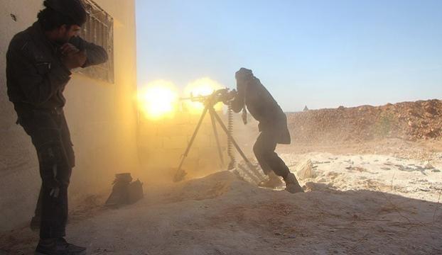 Halepte İranlı general komutasındaki milisler saldırıya geçti