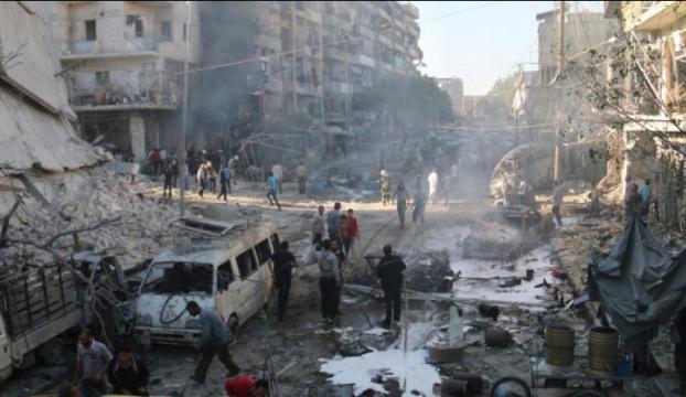 Esed rejimi Halepteki saldırılara ara verdi