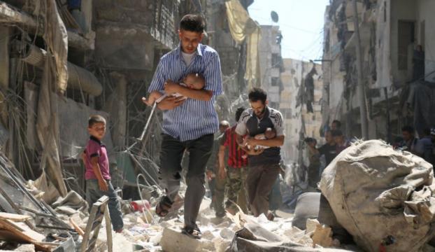 AK Partiden Halep için yardım kampanyası başlattı