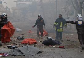 Halep'te korkunç bilanço: Ölü sayısı 828'e yükseldi