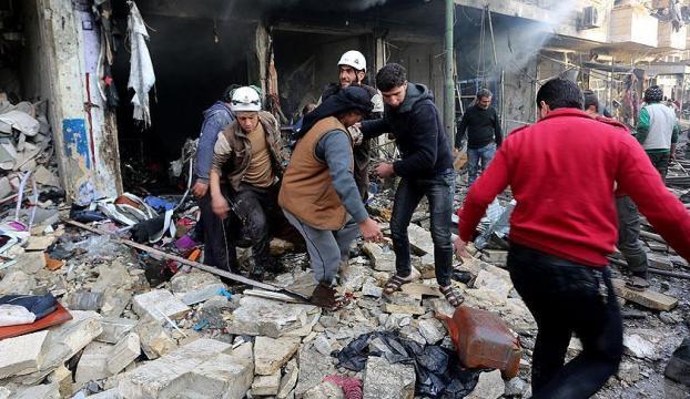 İdlib ve Halepte yerleşim yerlerine saldırı: 68 ölü