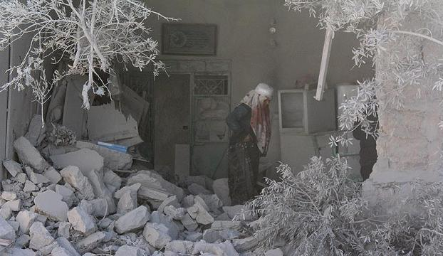 Esedin Barada Vadisine saldırıları, Şamı susuz bıraktı