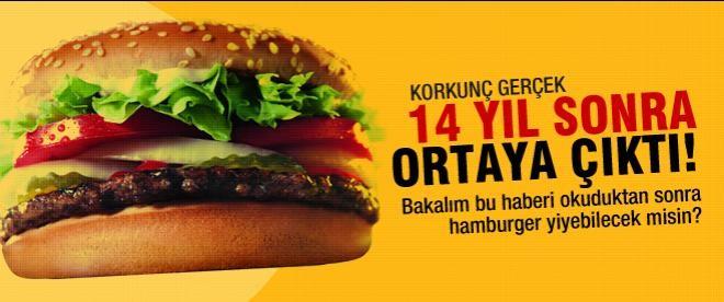 Hamburger hakkındaki korkunç gerçek