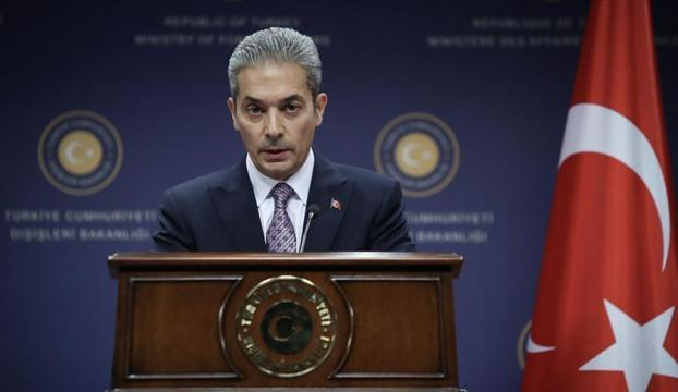 """Dışişleri Bakanlığı Sözcüsü Aksoy: """"Doğu Akdenizde haklarımızı kararlılıkla koruyacağız"""""""