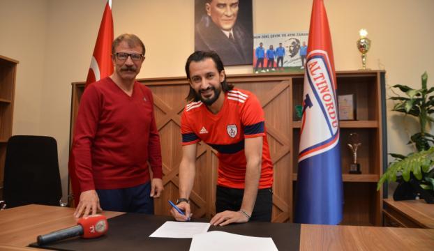 Altınordu Hasan Kabze ile sözleşme imzaladı