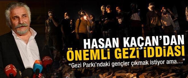 """""""Gezi Parkı'ndaki gençler çıkmak istiyor ama…"""""""