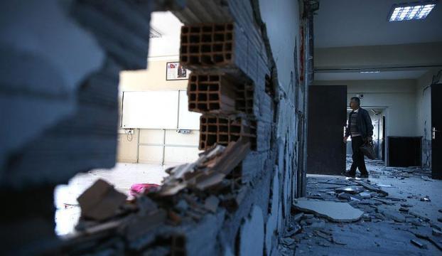 """Samsatta binaların yarısı hasarlı"""