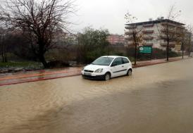 Hatay'da şiddetli yağış etkili oldu