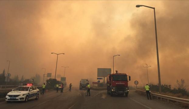 Hatayda çıkan orman yangını yerleşim yerlerine sıçradı