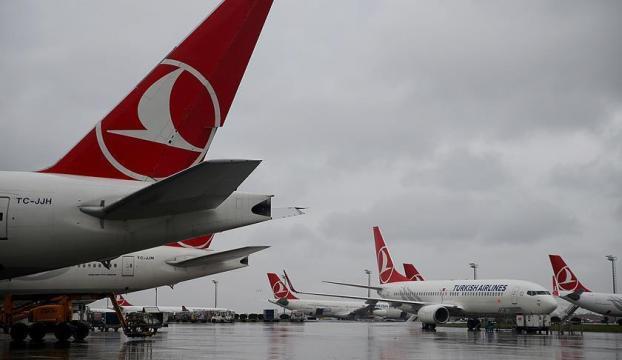 THY uçağı boşaltıldı, güvenlik araması yapıldı