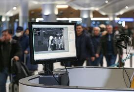 Çin'den gelen yolcular, İstanbul Havalimanı'nda termal kameralarla kontrol edildi