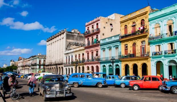 ABDden Havanaya ilk tarifeli uçuş