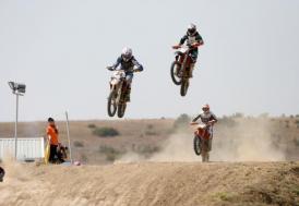 Motokros şampiyonalarında yarışacak sporcular Afyonkarahisar'a gelmeye başladı