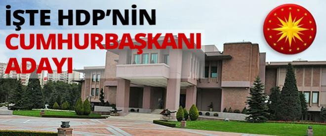 HDP Köşk adayını açıkladı