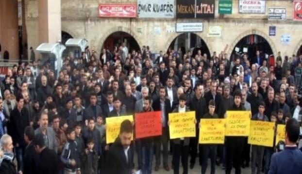HDPnin saçmalığı protesto edildi