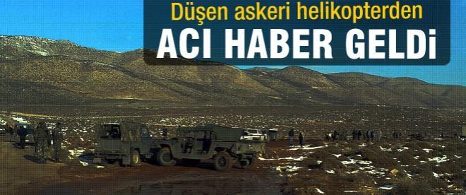 Askeri helikopter düştü 4 asker şehit