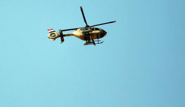Musulda askeri helikopter düştü