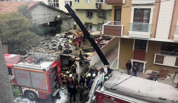 İstanbulda askeri helikopter düştü : 4 şehit 1 yaralı