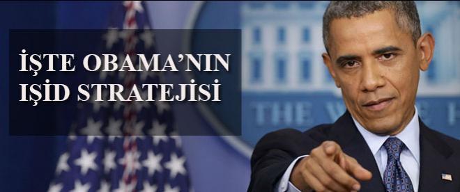 Obama, IŞİD'e karşı 4 aşamalı mücadele stratejisi belirledi