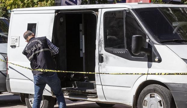 Başkentte banka nakil aracından 4,5 milyon liralık hırsızlık