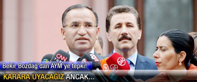 """""""HSYK düzenlemesi Anayasa'ya uygundur"""""""