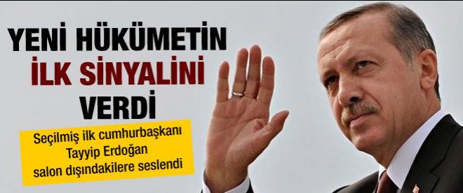 Erdoğan helallik istedi!