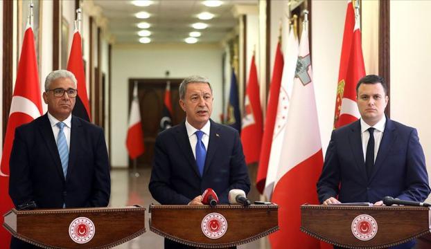 """Bakan Akardan, """"Türkiye-Malta- Libya Üçlü Toplantısı"""" sonrası açıklama:"""