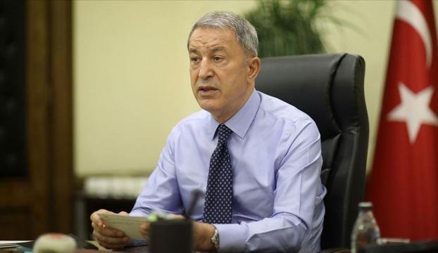 Milli Savunma Bakanı Akar, Doğu Akdenizdeki gelişmeler hakkında toplantı yaptı
