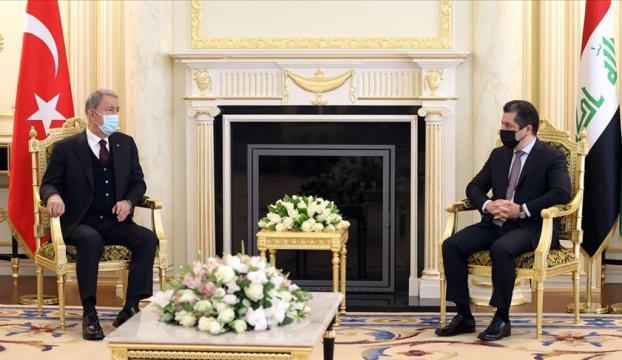 Milli Savunma Bakanı Akar: Bütün mücadelemiz terör örgütüne karşı