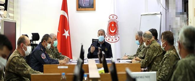Bakan Akar: Operasyonlarında 31 teröristin etkisiz hale getirili
