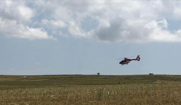 Hürkuş, Ankaradaki eğitim uçuşu sırasında düştü
