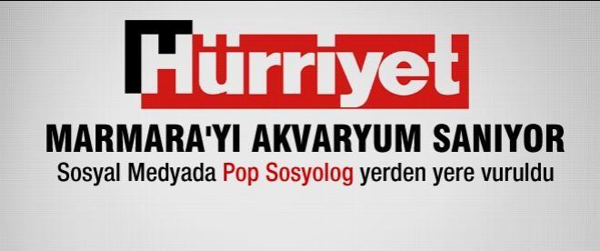 Hürriyet Marmaray'a, okuyucu Hürriyet'e tepki gösterdi