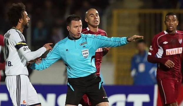 UEFAdan hakem Hüseyin Göçeke görev