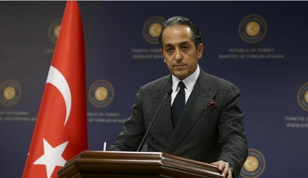 """Dışişleri Bakanlığı Sözcüsü Müftüoğlundan """"Kıbrıs"""" açıklaması"""