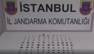İstanbul'da tarihi eser operasyonu