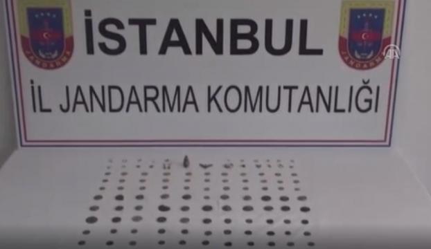 İstanbulda tarihi eser operasyonu
