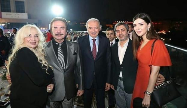 Necati Şaşmaz İstanbul Büyükşehir Belediyesi iftarına katıldı