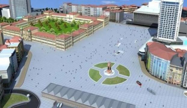 Taksim Topçu Kışlası Projesiyle ilgili flaş gelişme