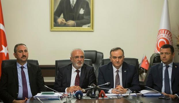 AK Parti ile MHP TBMM İçtüzüğü değişikliği metni üzerinde anlaştı