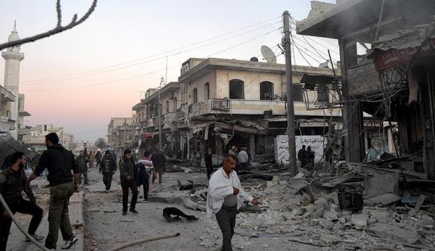 İdlibe hava saldırısı: 5 ölü
