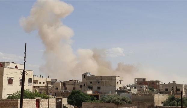İdlibde Rusya ambulans ve Sivil Savunma merkezini, Esed rejimi sivilleri vurdu