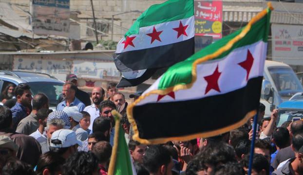 İdlibde Esed rejimi, Rusya ve Çin protesto edildi