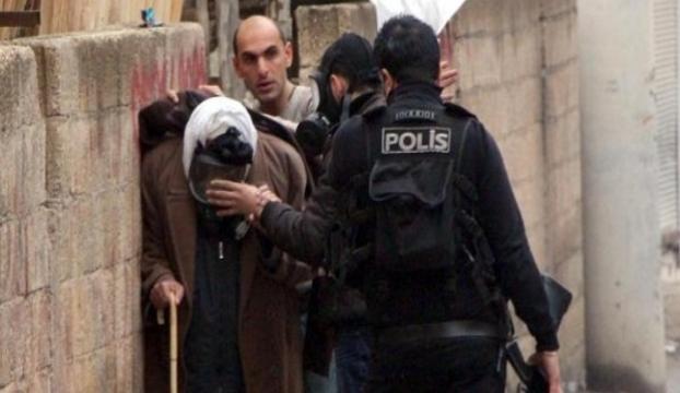 Nusaybinde yol kapatan PKKlılara müdahale
