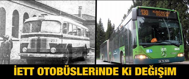 İETT otobüslerinde ki değişim