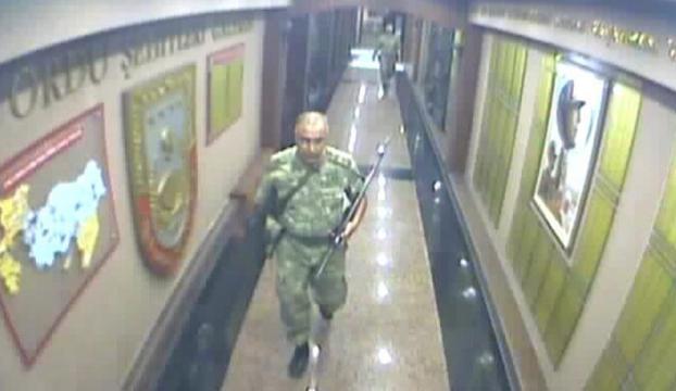 Darbe girişimi gecesi 2. Orduda yaşananlar güvenlik kamerasında